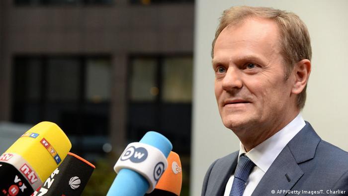 EU-Gipfel in Brüssel 18.12.2014 Tusk
