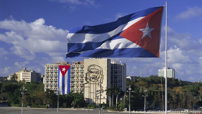 Kuba , Fahne , Symbobild, Modernisierung Öffnung Internationale Beziehungen