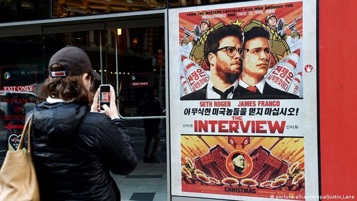 New York The Interview Filmplakat 18.12.2014