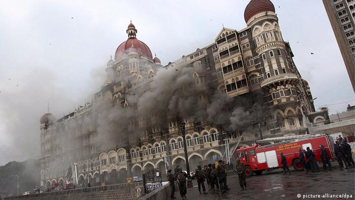 Mumbai's Taj Hotel after a terrorist attack