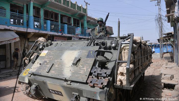 Pakistanische Soldaten Offensive in Waziristan Archiv Juli 2014