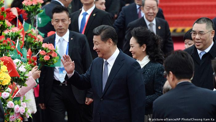 China Präsident Xi Jinping in Macau