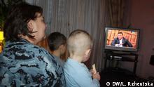 Kinder und TV-Berichterstattung über den ukrainisch-russischen Konflikt