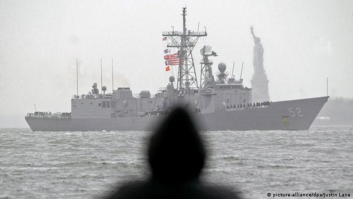 Obama erlaubt Verkauf von vier Kriegsschiffen nach Taiwan