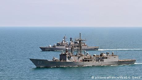 Obama erlaubt Verkauf von vier Kriegsschiffen nach Taiwan (picture-alliance/dpa/J.G. David)