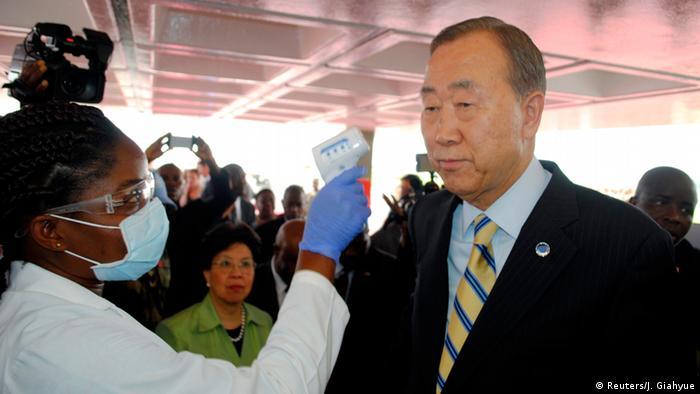 Ban Ki-moon in Liberia 19.12.2014