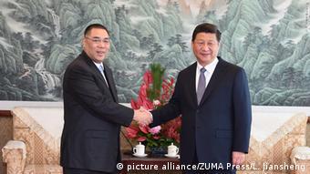 China Präsident Xi Jinping in Macau