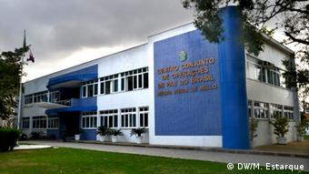 Hauptsitz des Zentrum von Brasiliens Friedensoperationen CCOPAB