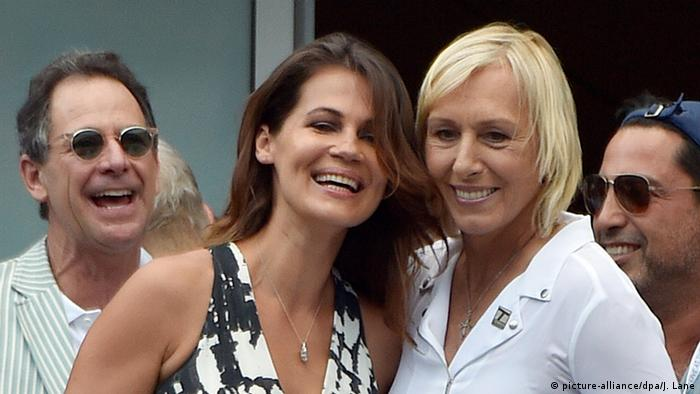 Martina Navratilova heiratet Freundin Julia Lemigova in New York (Foto: picture-alliance/dpa/J. Lane)