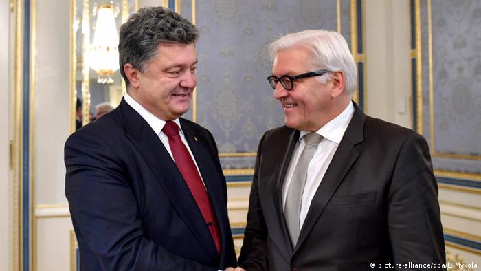 Зустріч Франка-Вальтера Штайнмаєра з Петром Порошенком у Києві 19 грудня 2014