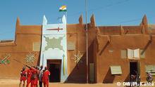 Schlagworte: Niger, Zinder, Damagaram Fotograf: Mahaman Kanta (DW Haussa) Wann wurde das Bild gemacht?: 10.12.2014 Bildbeschreibung: Der Palast des Emirs von Damagaram in der Stadt Zinder, Niger