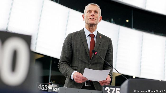 Депутат Европарламента Гельмут Шольц, спикер фракции левых по вопросам России и Украины