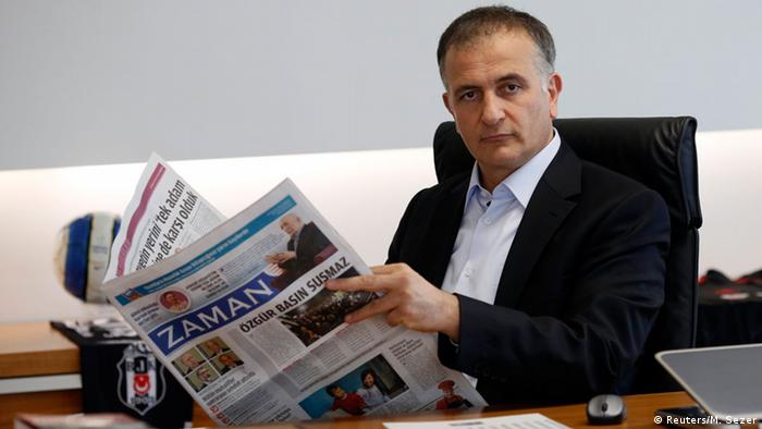 Ekrem Dumanli, editor-in-chief of the Turkish newspaper Zaman