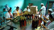 Rumfabrik in Kuba