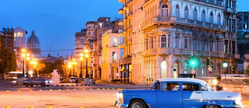 Avenida Malecon em Havana