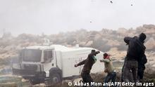 Proteste gegen israelische Siedlungspolitik in der West Bank 19.12.2014