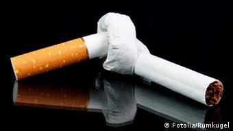 Symbolbild Zigarette Rauchverbot