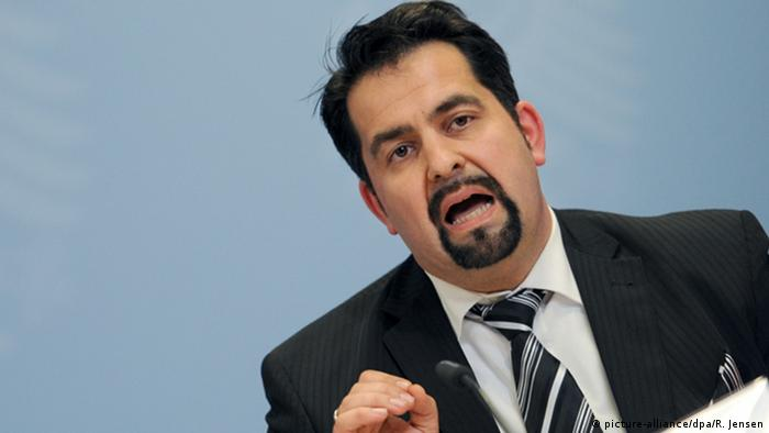 Germany's Central Council of Muslims president, Aiman Mazyek (picture-alliance/dpa/R. Jensen)