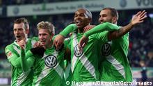 Fußball 1. Bundesliga Wolfsburg - Köln