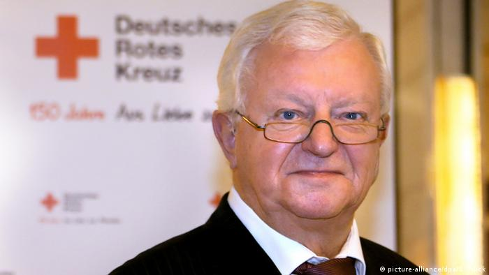 Rudolf Seiters (DRK) (Foto: picture-alliance/dpa/S. Pilick)