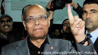 Tunesien Präsidentschaftswahl 21.12.2014 - Präsident Moncef Marzouki