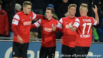 Bundesliga SC Freiburg - Hannover 96 21.12.2014
