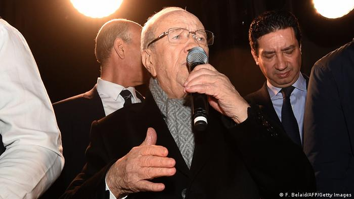 Tunesien Präsidentschaftswahl 21.12.2014 - Beji Caid Essebsi