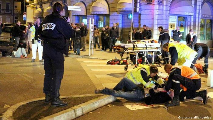 Dijon car rampage