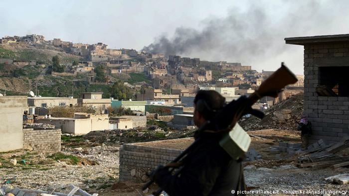 Mapigano yakiendelea kwenye wilaya ya Mosul