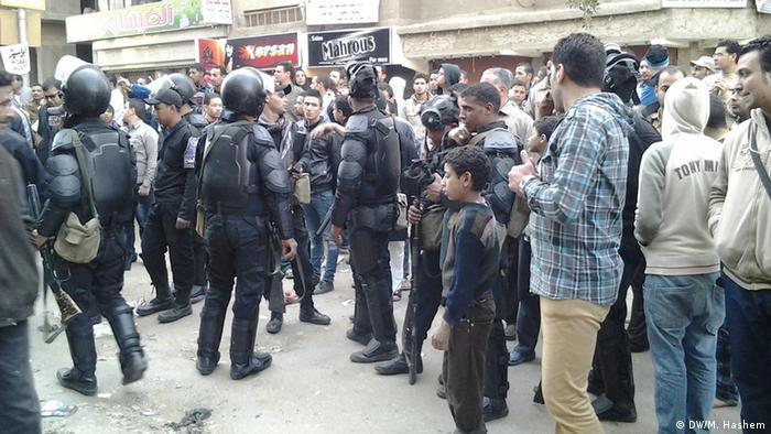 Ägyptische Polizei schafft neue Rollen (DW/M. Hashem)