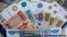 Russlands Währung weiter auf Erholungskurs