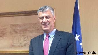 Hashim Thaci Premierminster Kosovo