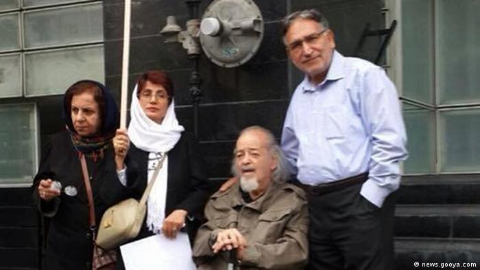 Nasrin Sotoudeh in Sitzstreik (news.gooya.com)
