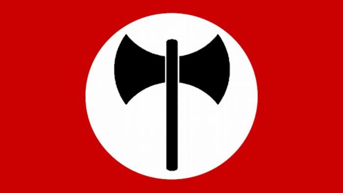 The Ordine Nuovo organization used a double-head axe as its symbol