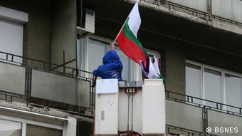 Straßenszene in Sofia, Bulgarien