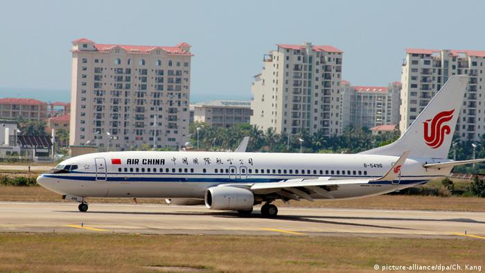 Boeing 737 of Air China