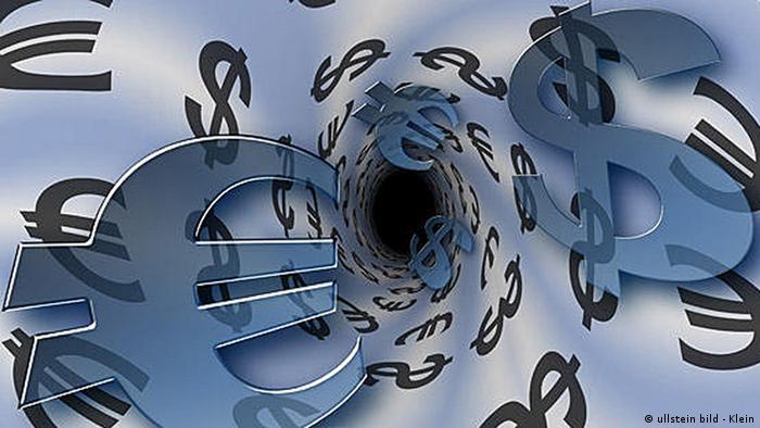 Символы евро и доллара