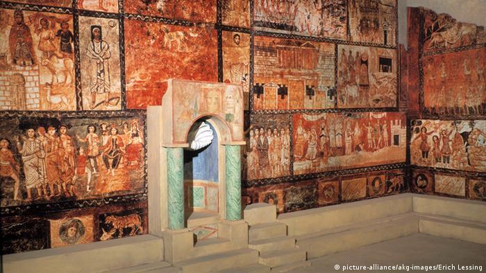 Synagoge Dura Europos in Syrien