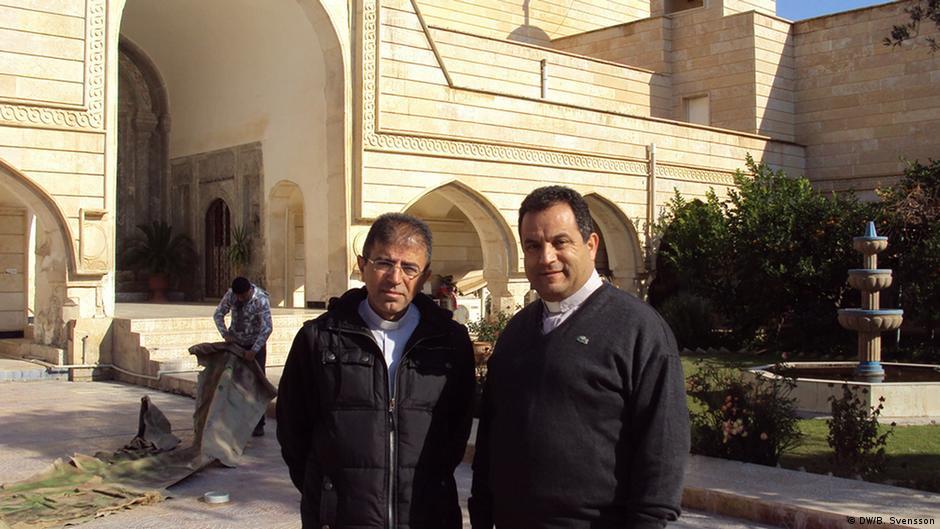 irakische christen feiern weihnachten zwischen angst und. Black Bedroom Furniture Sets. Home Design Ideas