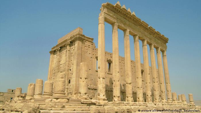 Baal-Tempel in Syrien