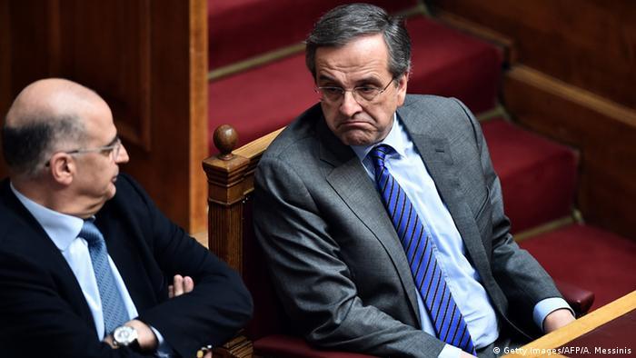 Antonis Samaras und Stavros Dimas