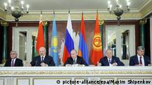 Moskau Eurasische Wirtschaftsunion Gipfel 23.12.2014
