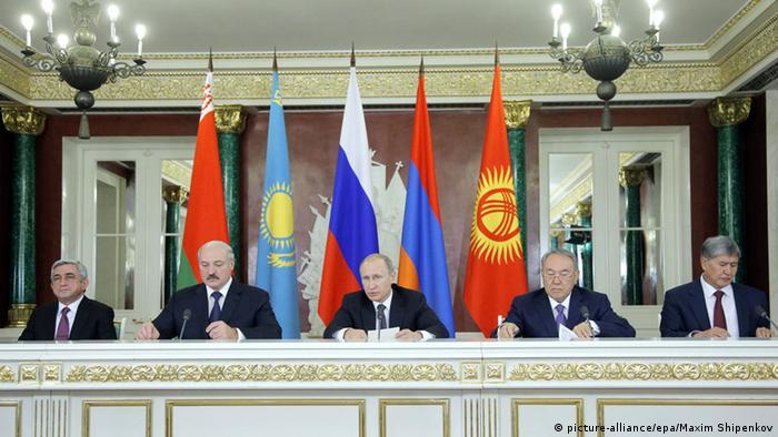 Саммит ЕАЭС в Москве, декабрь 2014 года
