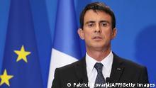 Frankreich Paris Manuel Valls 23.12.2014