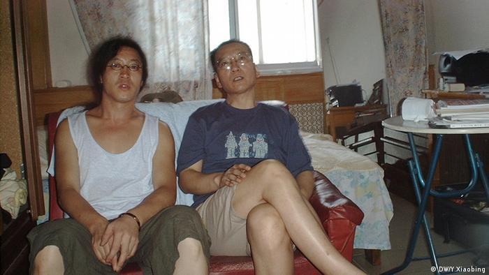 Liu Xiaobo und Beiling in Peking (DW/Y.Xiaobing)