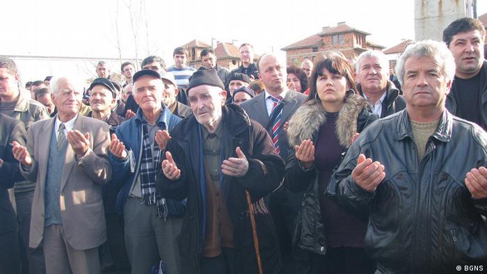 Gedenkfeier zum Jahrestag der zwanghaften Namensänderung bulgarischer Türken während des Kommunismus