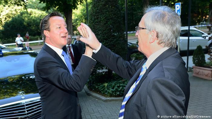 David Cameron und Jean-Claude Juncker