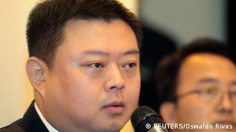 El multimillonario chino Wang Jing, promotor del proyecto