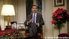 Weihnachtsrede des spanischen Königs Felipe VI