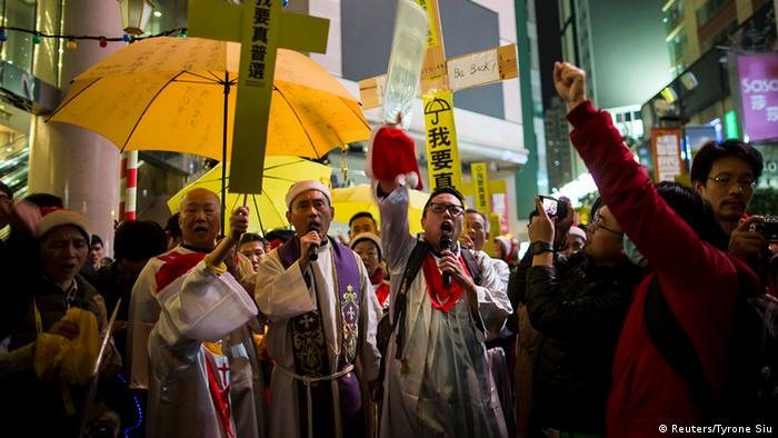 Hongkong Protest, December 24